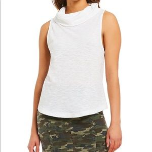 We The Free Sumer Thing Cowl Neck Knit Tank